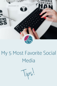 Lora Shipman My 5 Most Favorite Social Media Tips