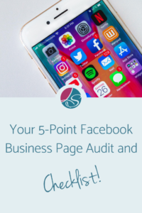 Lora Shipman Your 5-Point Facebook Business Page Audit and Checklist