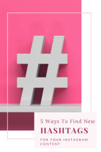 Lora Shipman 5 Ways To Find New Hashtags For Your Instagram Content 1